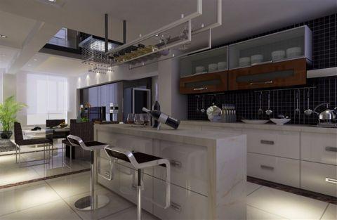 现代简约风格240平米别墅新房装修效果图