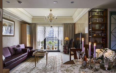 新古典风格160平米大户型室内装修效果图