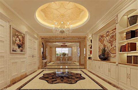 欧式风格230平米复式新房装修效果图