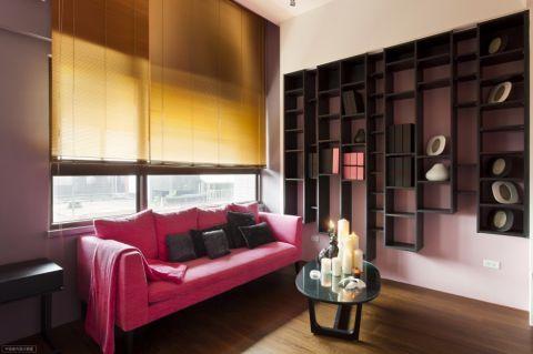 现代简约风格55平米小户型室内装修效果图