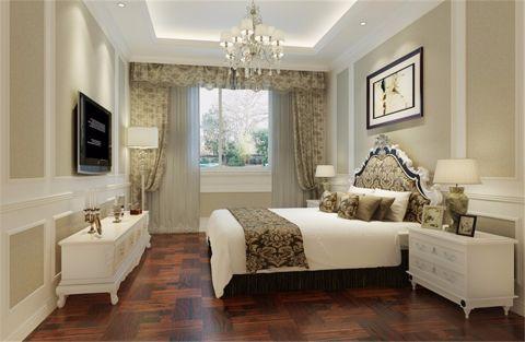 卧室电视柜欧式风格装饰设计图片