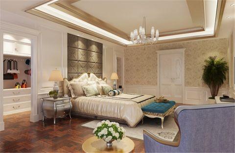 卧室地板砖欧式风格装潢设计图片