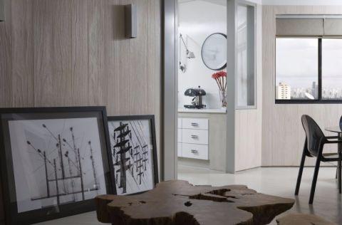 餐厅地砖现代简约风格装潢设计图片