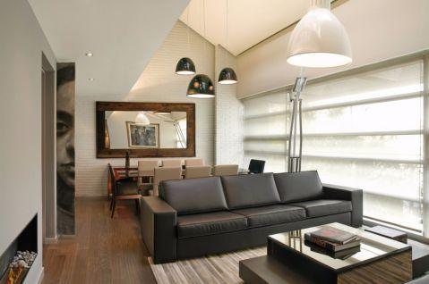 现代简约风格130平米跃层室内装修效果图