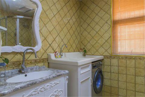 卫生间洗漱台地中海风格装修效果图