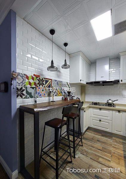 厨房榻榻米田园风格装潢设计图片