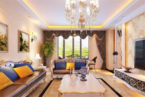 欧式风格179平米大户型室内装修效果图
