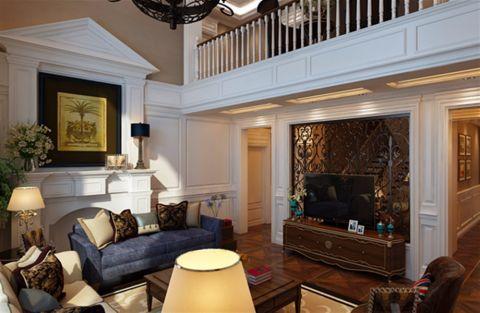 美式风格340平米别墅新房装修效果图