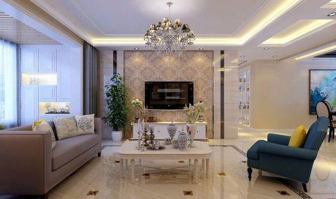 现代简约风格148平米四室两厅室内装修效果图