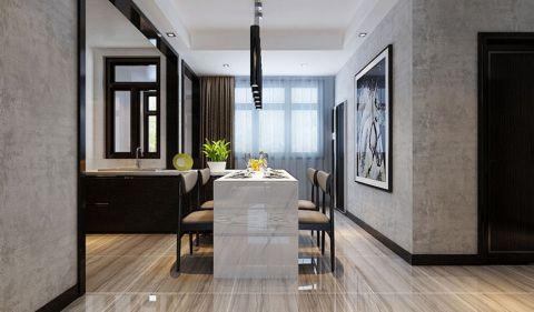 餐厅白色吊顶现代风格效果图