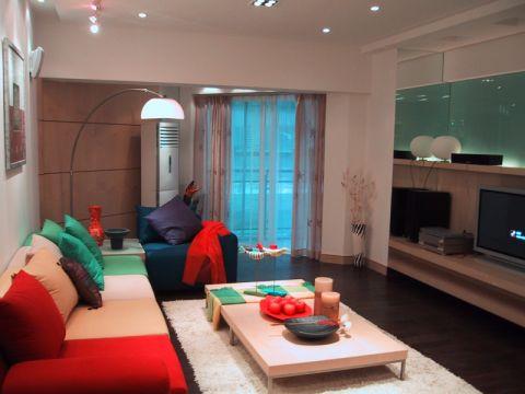 现代风格110平米套房室内装修效果图