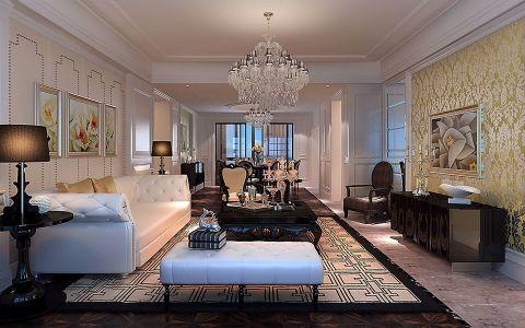 简欧风格143平米三室两厅新房装修效果图