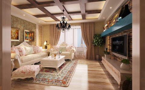 120平米欧式风格的金地朗悦