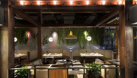 中原餐厅装修效果图