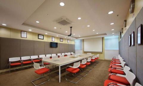 升龙汇金中式简约办公室装修设计效果图
