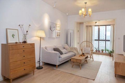 70平米日式风格二居室装修效果图