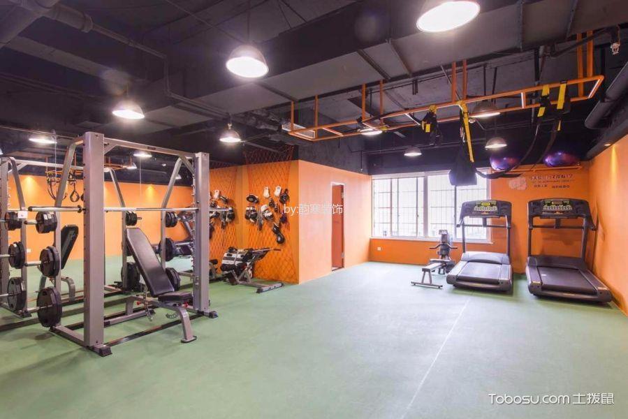健身会所健身房健身室地板砖装潢图片高清