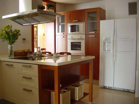 歐式廚房櫥柜設計方案