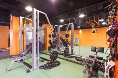 健身会所健身房装修效果图