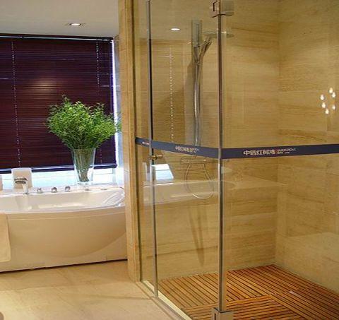浴室窗帘现代简约风格装修效果图