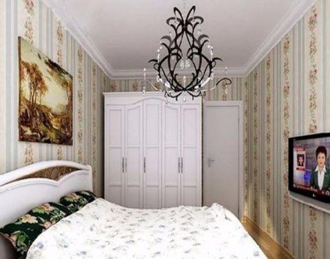 卧室衣柜田园风格效果图