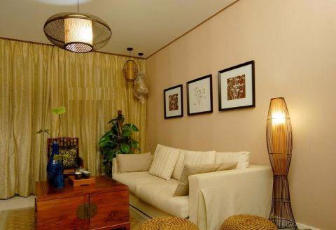 日式风格80平米一居室新房装修效果图