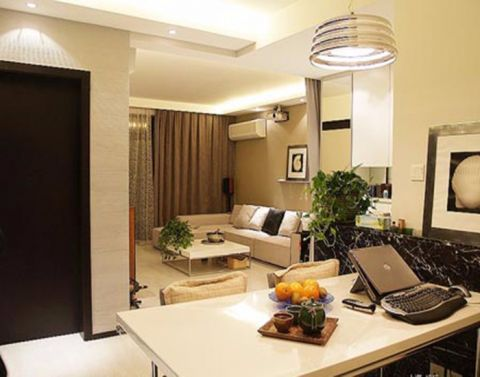 客厅茶几现代风格装修效果图