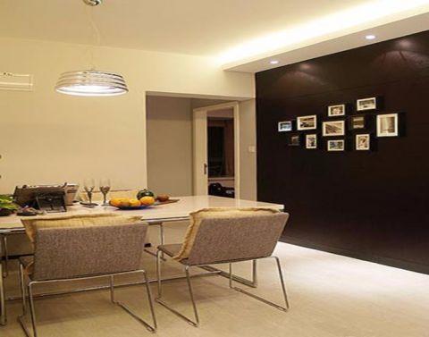 餐厅照片墙现代风格装潢效果图