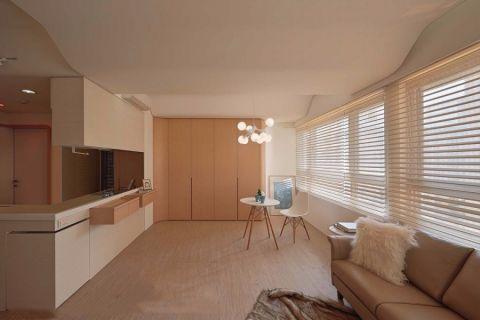 现代风格60平米公寓新房装修效果图