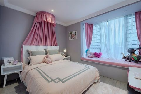 儿童房窗帘简约风格装修图片