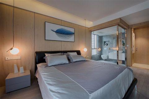 卧室床头柜简约风格装修设计图片