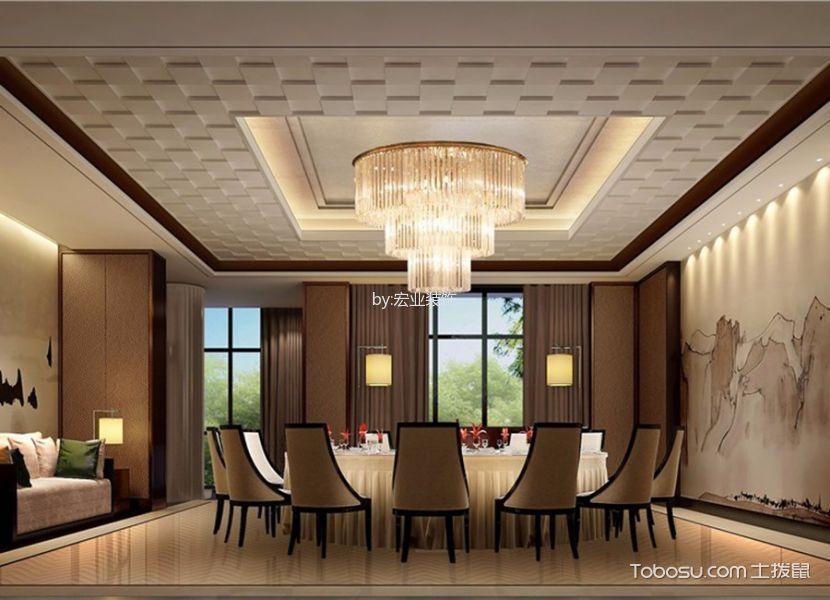 新中式风格精品酒店休闲区装潢效果图欣赏