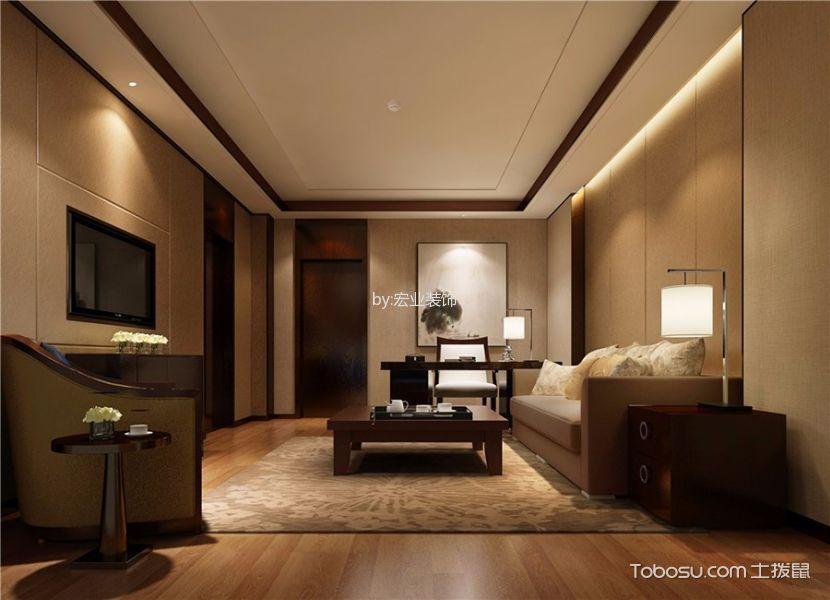 新中式风格精品酒店客房设计图