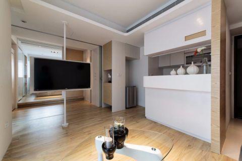 简约风格50平米公寓新房装修效果图