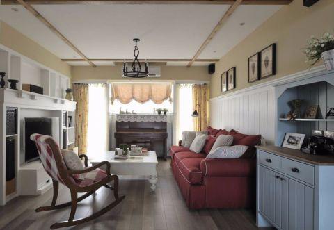 田园风格120平米套房室内装修效果图