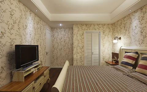 卧室电视柜田园风格装饰设计图片