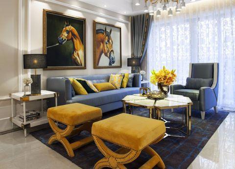 简欧风格140平米套房室内装修效果图