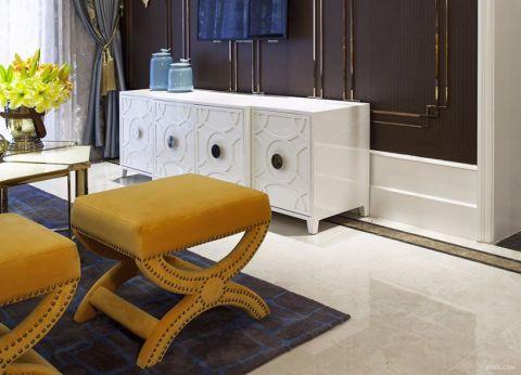 客厅地砖简欧风格装饰效果图