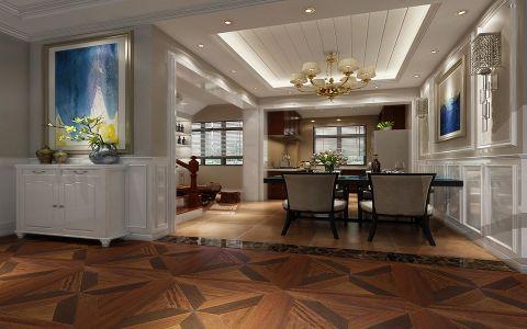 混搭风格180平米别墅室内装修效果图