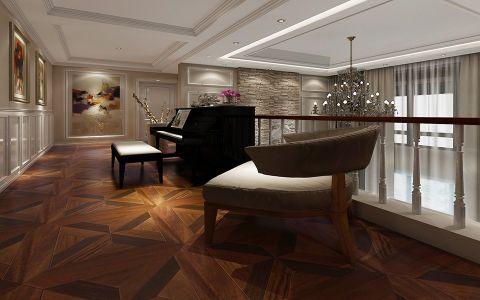 客厅走廊混搭风格装修设计图片