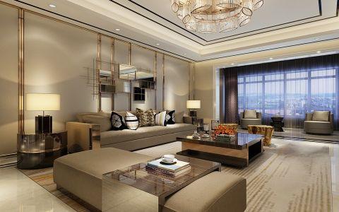 现代简约风格150平米大户型室内装修效果图