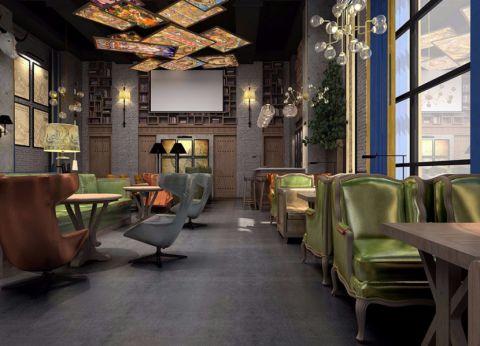 咖啡厅装修设计案例效果图