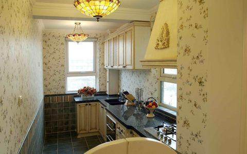 厨房黄色韩式风格装潢设计图片