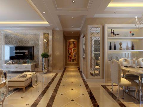 玄关走廊简欧风格装修效果图