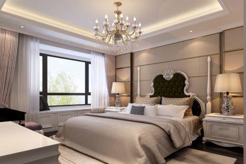 卧室床头柜新古典风格装饰效果图