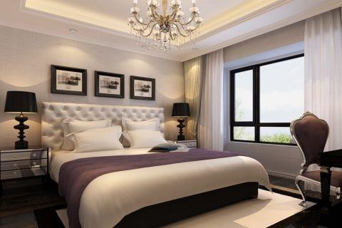 卧室床新古典风格装修图片