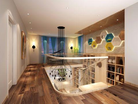 卧室走廊日式风格装潢图片