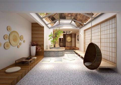 玄关地砖日式风格装修设计图片