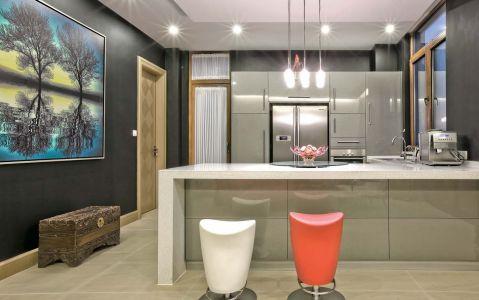混搭风格130平米复式新房装修效果图