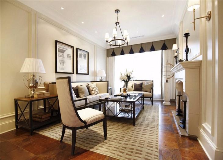 3室2卫1厅110平米简欧风格